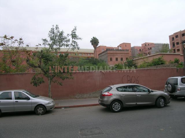 Vente de terrains R+5 Marrakech