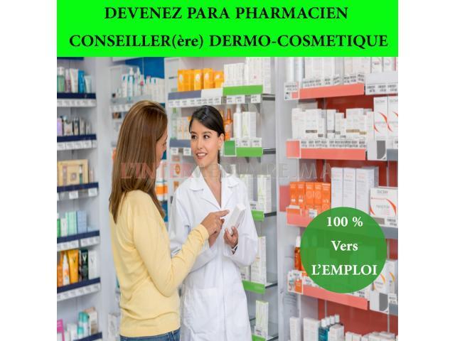 Parapharmacien-Dermo-Conseillère