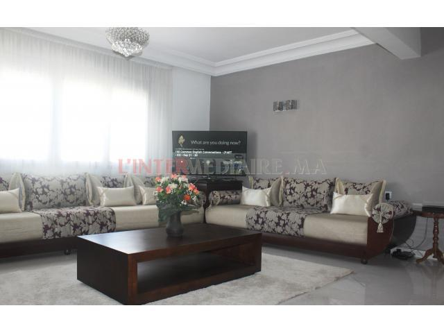 Bel appartement, 129m² Route d'El Jadida