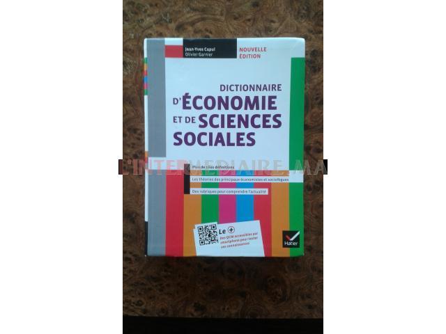 Dictionnaire d'économie et de sciences s