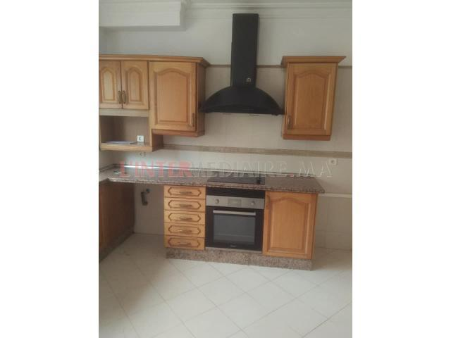 location appartement 180m2 Maarif