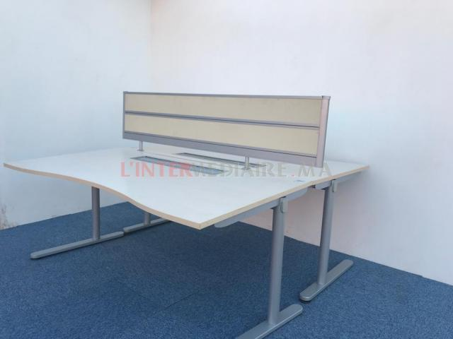 Bureau Open Space Steelcase 180x80 separ