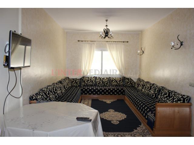 Appartement meublé à vendre