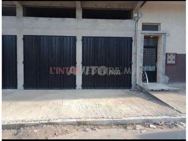 deux grands garages à vendre sur Rabat