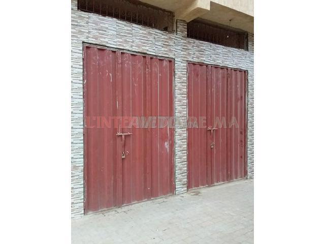 Deux garages saroute à vendre sur Rabat