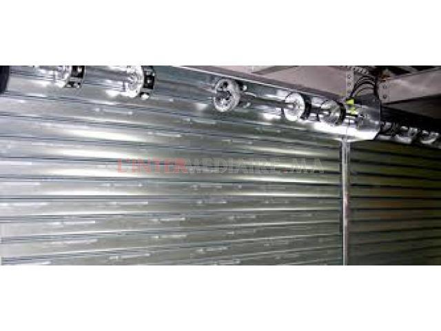 réparation des rideaux métallique électr