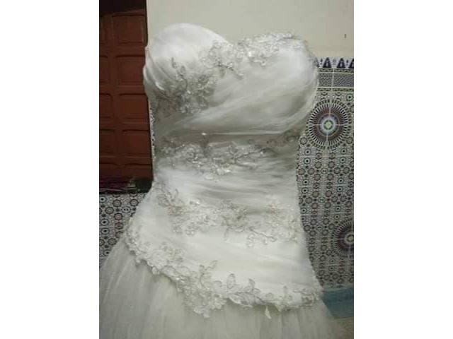 robe de mariage presque neuf