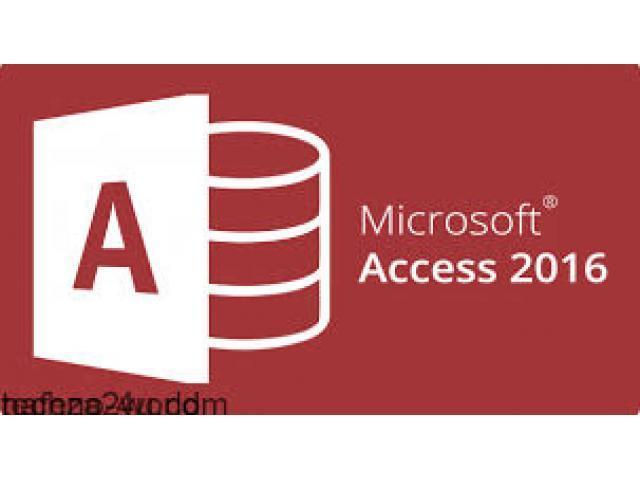 Formation et développement sur Access