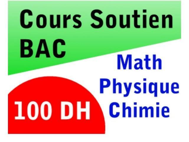 Cours de maths et physique à domicile