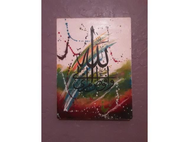 Tableau peinture sur toile, fait main