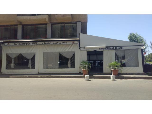 مقهى عصري للبيع في مدينة برشيد