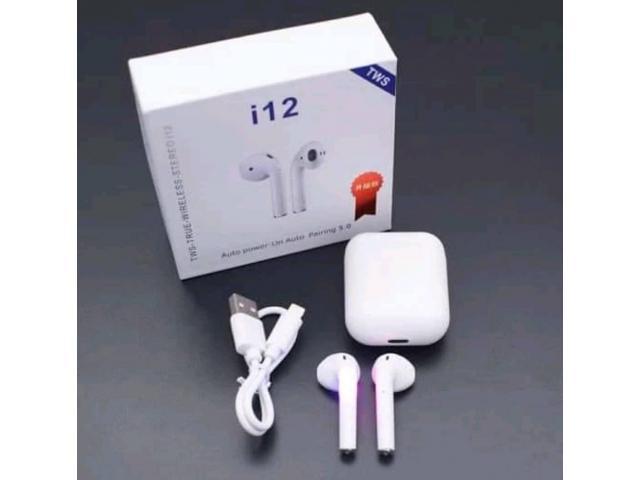 Inpods i12 TWS Casque Stéréo Sans Fil HD