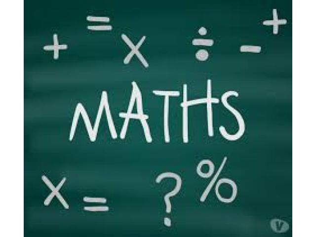 Cours de maths à domicile