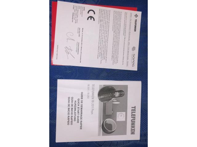 Telefunken TB 201 Telephone Sans Fil