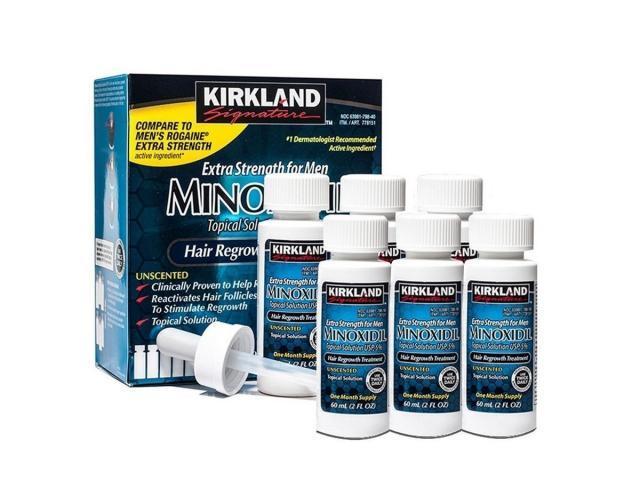 Kirkland Minoxidil 5% cheveux et barbe