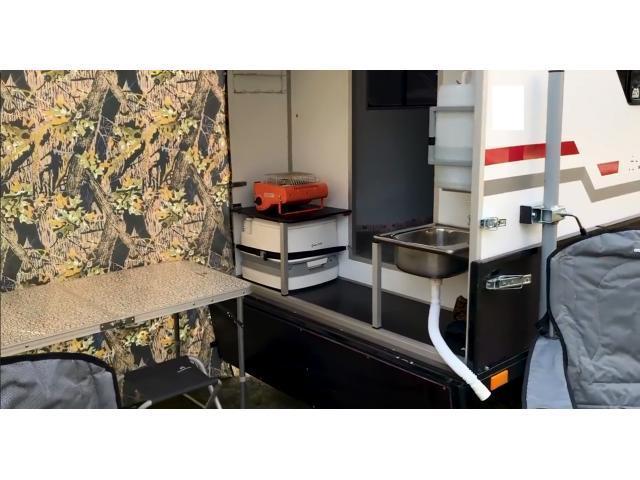 Caravane Box Camper série randonnées