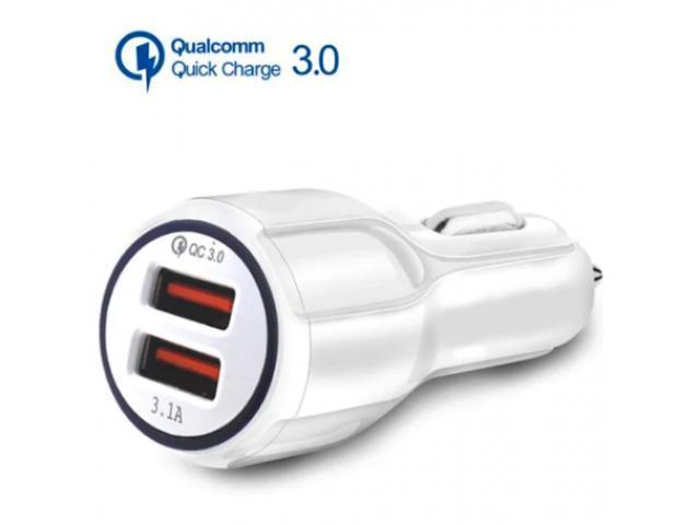 Chargeur de Voiture Double USB Charge