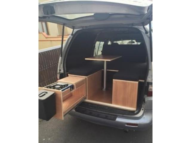 Camping car kit aménagement modulaire